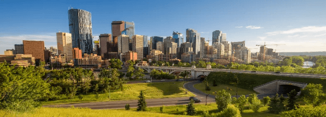 Moving to Calgary with Camovers - professional movers in Canada