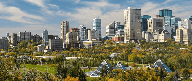 Moving to Edmonton with Camovers - professional movers in Canada -
