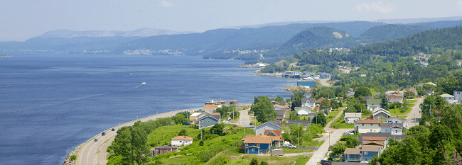 Moving to Corner Brook Newfoundland and Labrador with Camovers - local and long distance movers in Canada