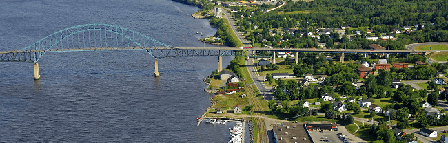 Moving to Miramichi New Brunswick with Camovers - local and long distance movers in Canada