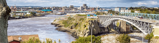 Moving to Saint John New Brunswick with Camovers - local and long distance movers in Canada
